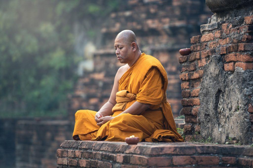 Buddha Meditating (Can Overcome PTSD)
