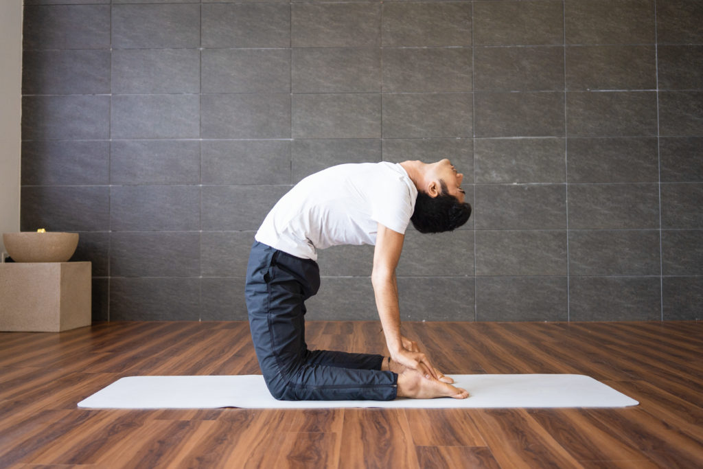 Camel Pose - To Relieve Gas