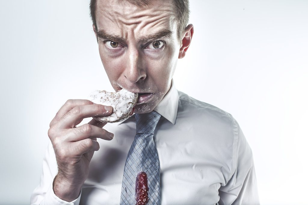 Man Eating Irregularly. ( Reason For Gas trouble)