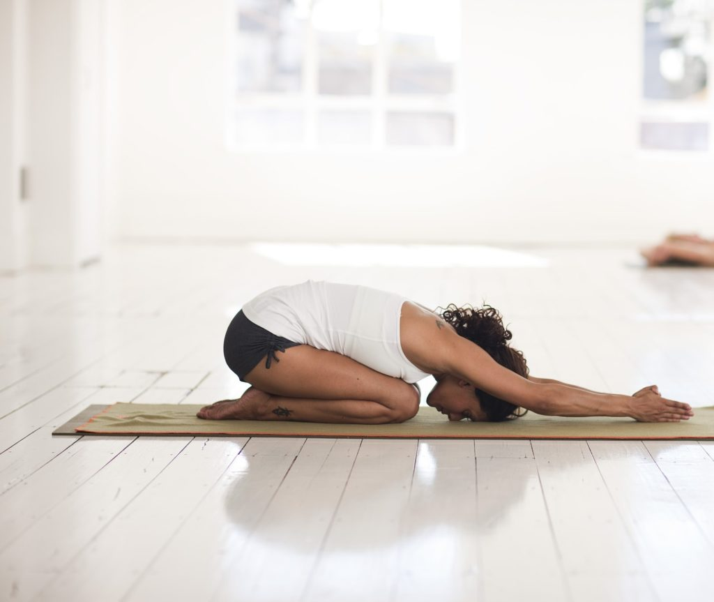 Child pose - To Relieve Gas