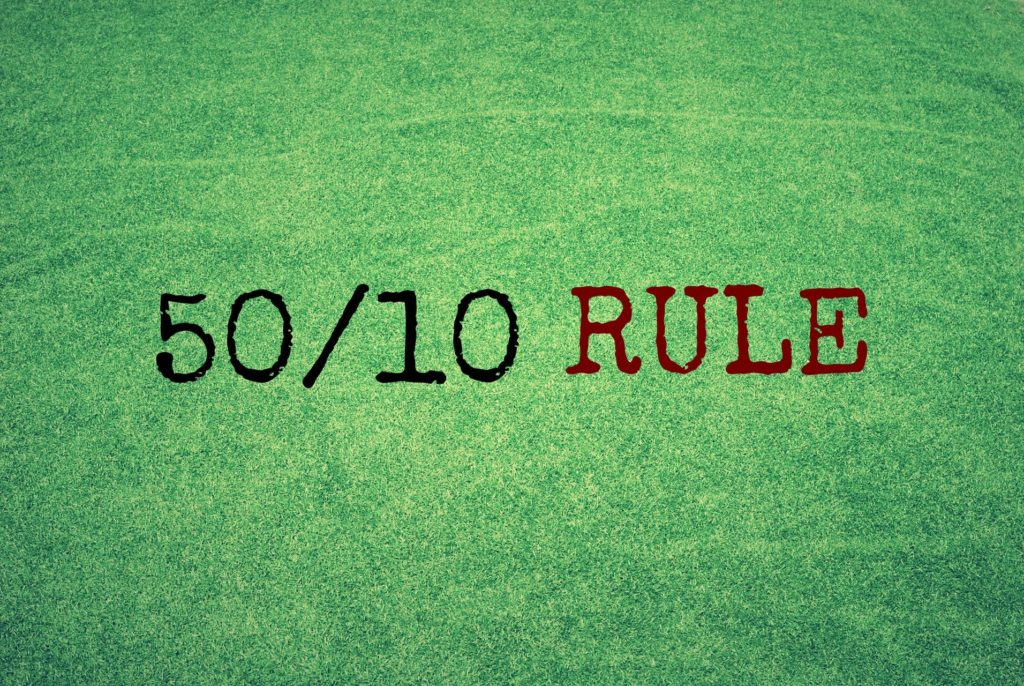 50/10 Rule (Can Overcome Laziness)
