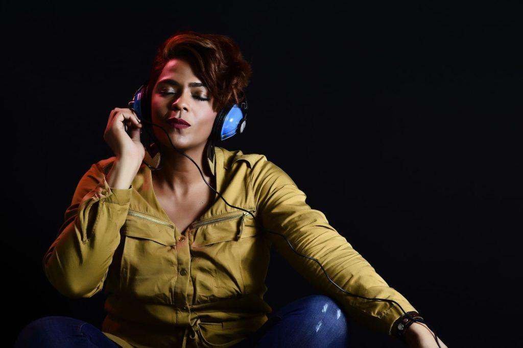Girl Listening Music (Her Interest)