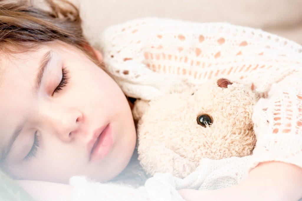 Cute Girl Sleeping (Can Control Diabetes)