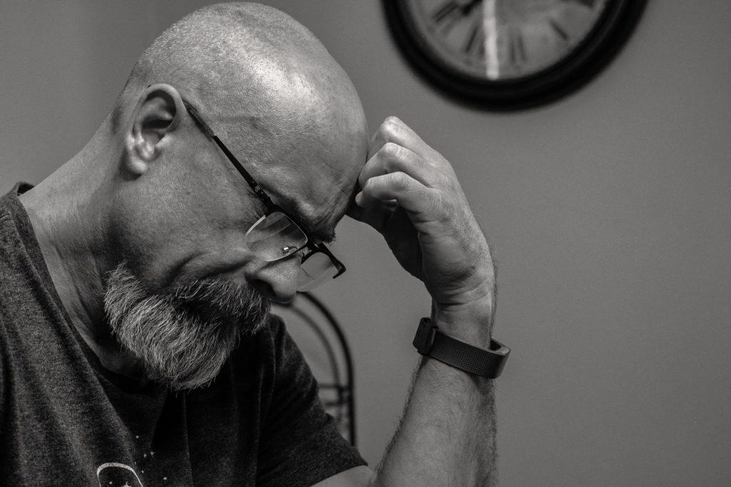 Man Feeling Tense (Avoiding this Can Control Diabetes)